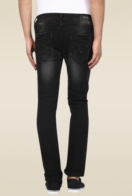 Mufti Black Stone Narrow Fit Jeans