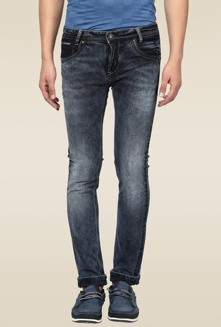 Mufti Black Stone Slim Fit Jeans