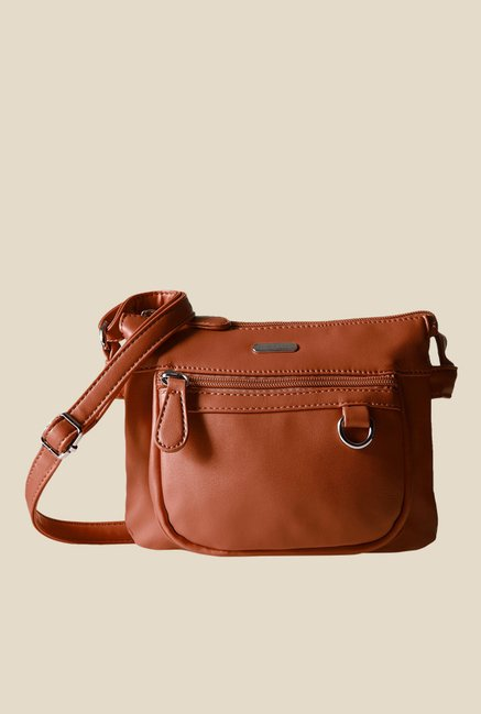 f95c9fed3ff Buy Lavie Dover CSB Tan Small Sling Bag For Women At Best Price   Tata CLiQ