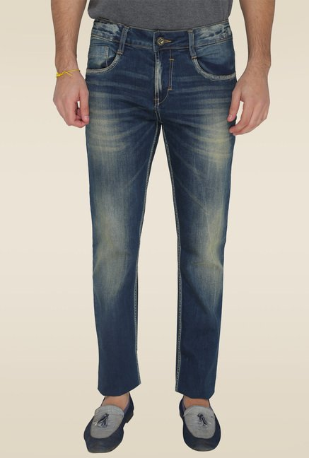 Greenfibre Blue Mid Rise Jeans