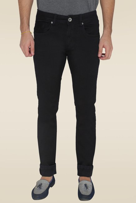 Greenfibre Black Slim Fit Jeans