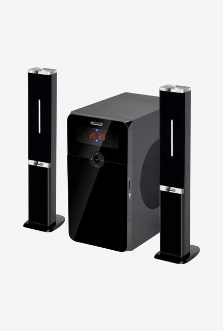 Mitashi HT6597BT 2.1 Subwoofer System with Soundbar (Black)