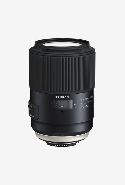 Tamron SP 90mm F/2.8 Di MACRO 1:1 VC USD Lens for Canon DSLR