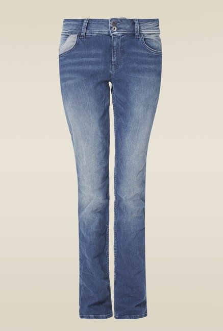 S.oliver Blue Straight Fit Jeans