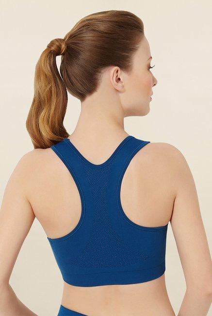 bcd33207e2 Buy Amante Blue Non Padded Reversible Bra for Women Online   Tata CLiQ