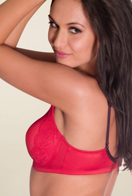 Amante Red Padded Bra