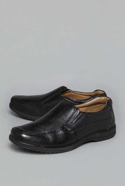 7fc42be74cd Buy David Jones by Westside Black Slip On Loafers For Men Online At Tata  CLiQ