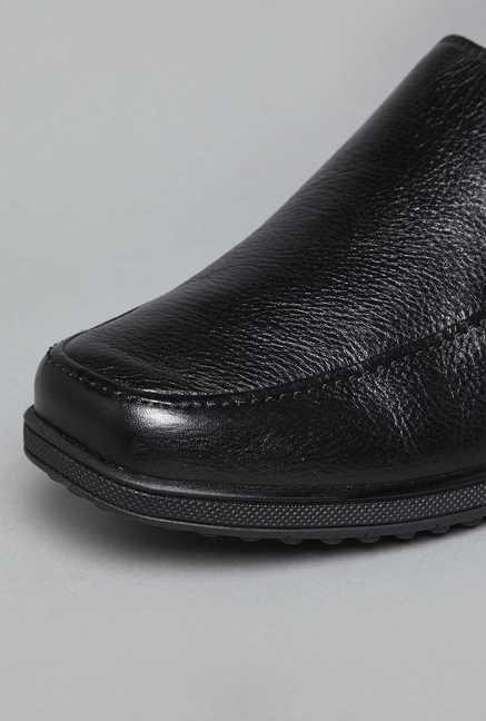 bd56aac9890 Buy David Jones by Westside Black Slip On Loafers For Men Online At ...