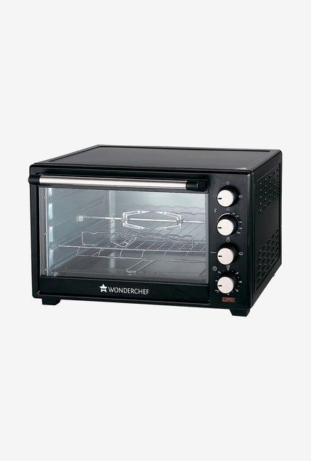 Wonderchef 40L Oven Toaster Griller Black