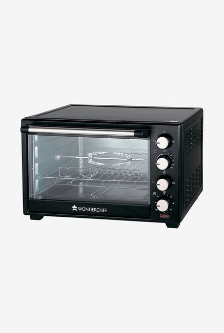 Wonderchef 28L Oven Toaster Griller (Black)