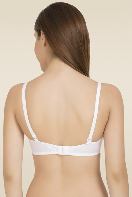Tweens White Non Padded Seamless T-Shirt Bra