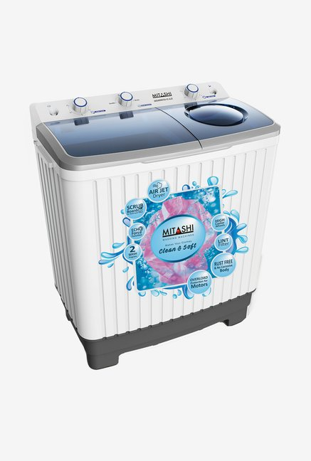 Mitashi MiSAWM70v25 7Kg Top Load Washing Machine (White)