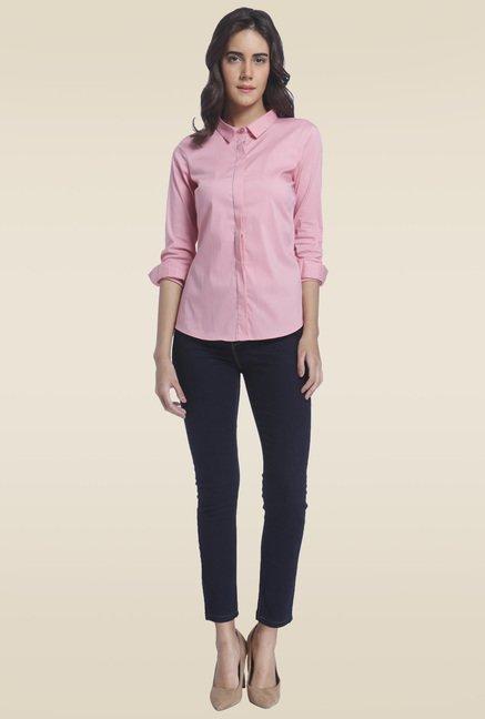 Vero Moda Pink Regular Fit Shirt