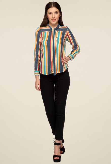 Mineral Multicolor Striped Shirt