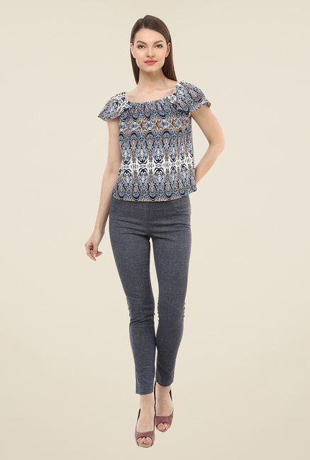 Oxolloxo Multicolor Printed Top