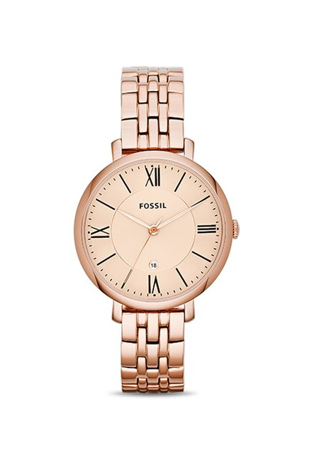 Fossil ES3435I Jacqueline Analog Watch for Women