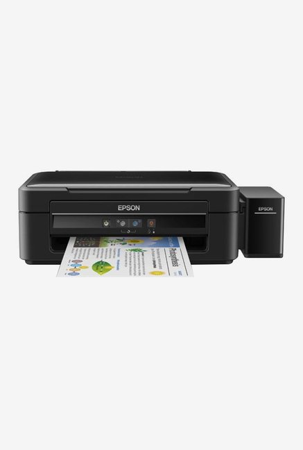 Epson L380 AIO Multi Function Ink Tank Printer (Black)