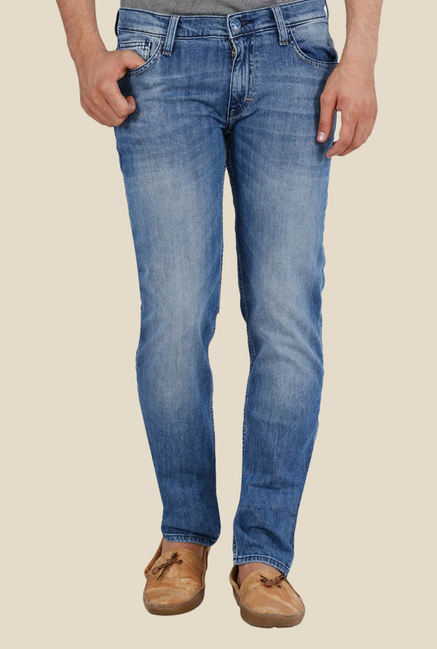 Lee Low Bruce Blue Low Rise Jeans