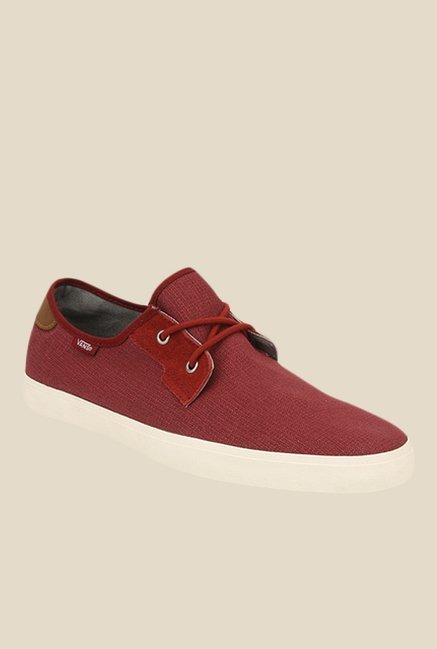 4258deadbb Buy Vans Michoacan SF Red Casual Shoes for Men at Best Price ...