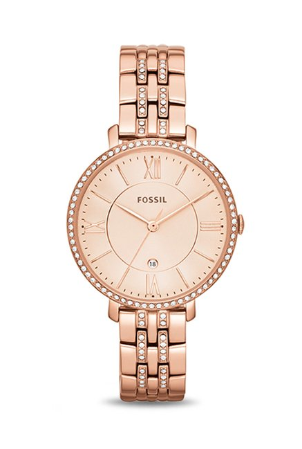Fossil ES3546I Jacqueline Analog Watch for Women