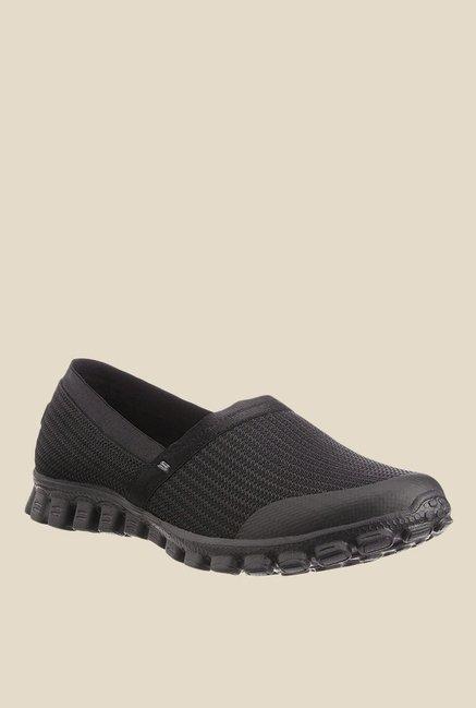 2b75b755d781 Buy Skechers Ez Flex 2 Black Running Shoes for Women at Best Price   Tata  CLiQ