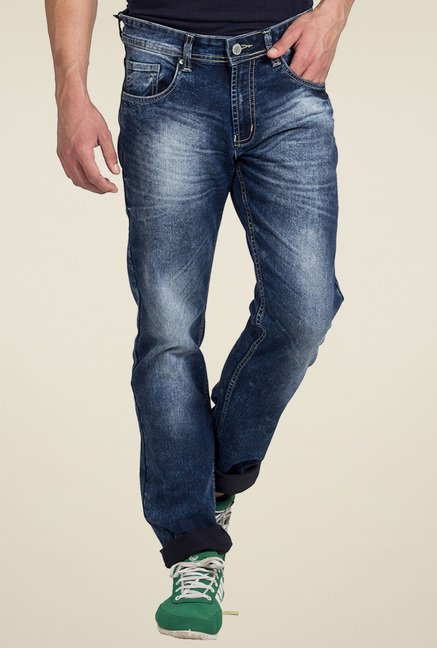 Club Fox Dark Blue Low Rise Jeans