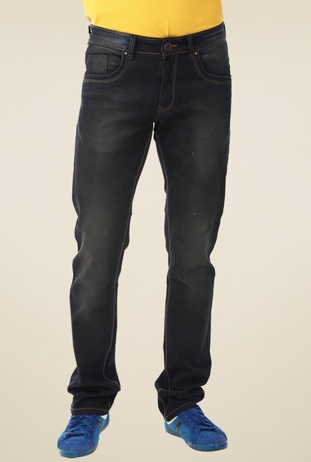 Yoo Black Regular Fit Jeans