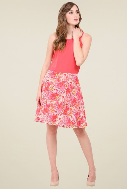Trend Arrest Pink Sleeveless Dress