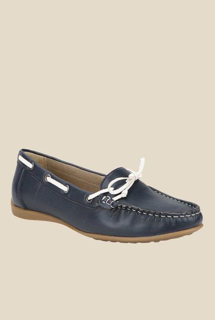 La Briza Navy Boat Shoes