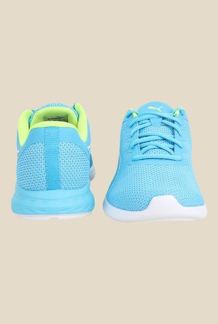 Puma Vigor Sky Blue \u0026 Green Running