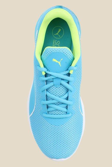 Buy Puma Vigor Sky Blue   Green Running Shoes for Women at Best ... 43b164fcf