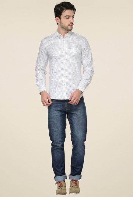 Ishwa White Printed Shirt