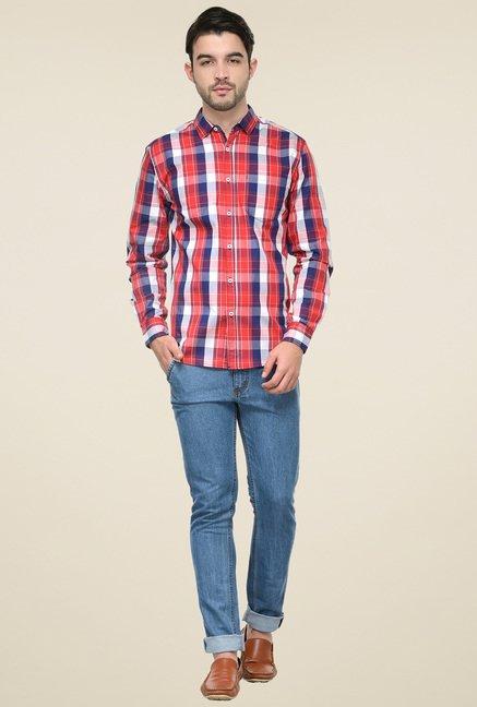 Ishwa Multicolor Cotton Regular Fit Shirt