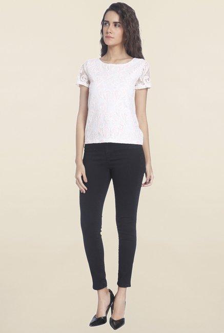 Vero Moda White Lace Top