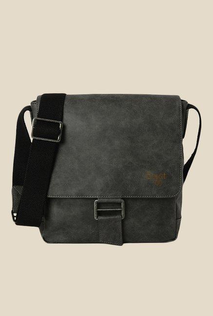 Baggit Struan Clive Grey Solid Sling Bag