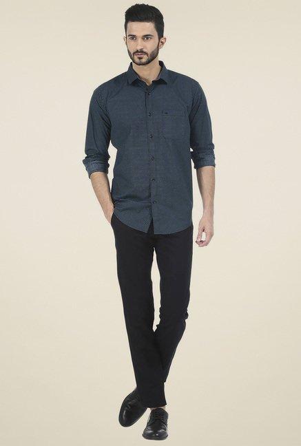 Basics Black Full Sleeves Shirt