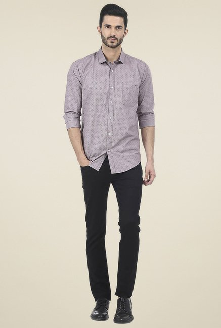 Basics Grey Full Sleeves Shirt