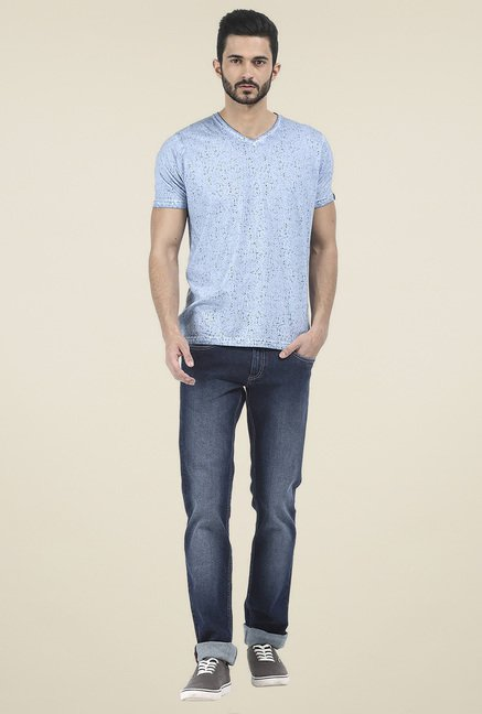 Basics Navy Slim Fit Jeans