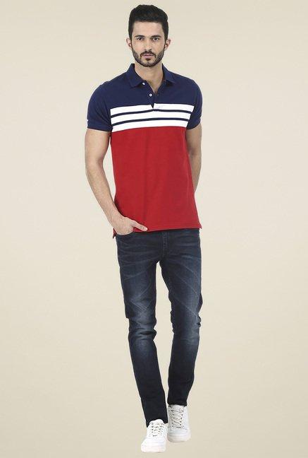 Basics Red Slim Fit T-Shirt