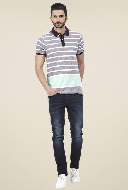 Basics Grey Slim Fit T-Shirt