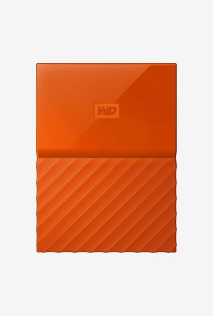 WD My Passport 1 TB Portable Hard Drive (Orange)