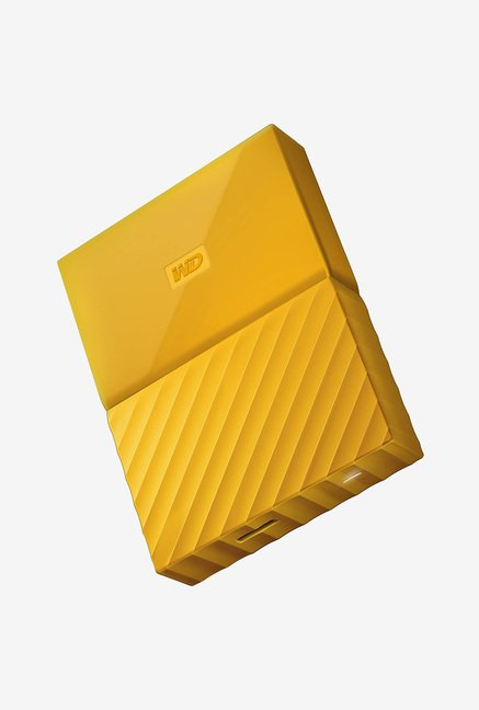WD WDBYFT0020BYL My Passport 2 TB Portable External Hard Drive Yellow