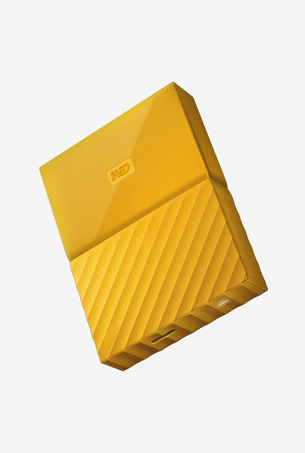 WD WDBYFT0040BYL My Passport 4TB Portable External Hard Drive Yellow