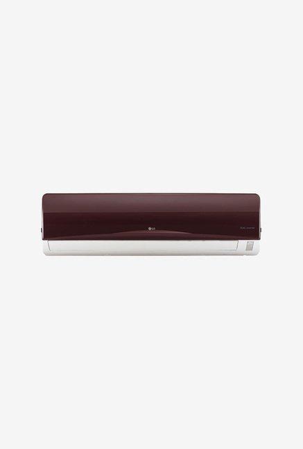 LG JS-Q18NRXA 1.5 Ton 3 Star Inverter Split AC (Maroon)