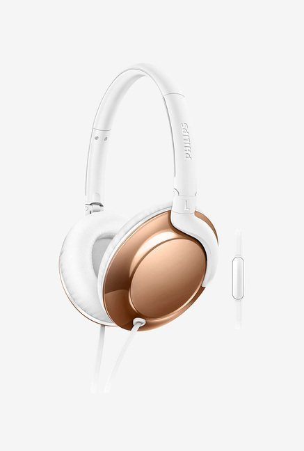 Philips SHL4805RG/00 Over Ear Headphone (White)