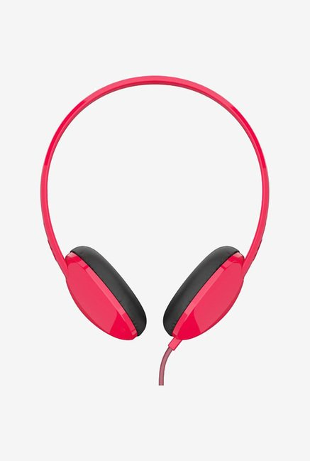 Skullcandy Anti S5LHZ J570 Over Ear Headphone  Red