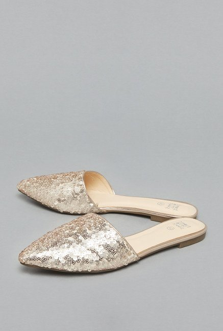 f7c3322e27d0 Buy Head Over Heels by Westside Beige Slide Sandals For Women Online At Tata  CLiQ