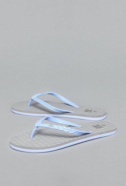 1369321af402 Buy Head Over Heels by Westside Blue Thong Flip Flops For Women Online At Tata  CLiQ