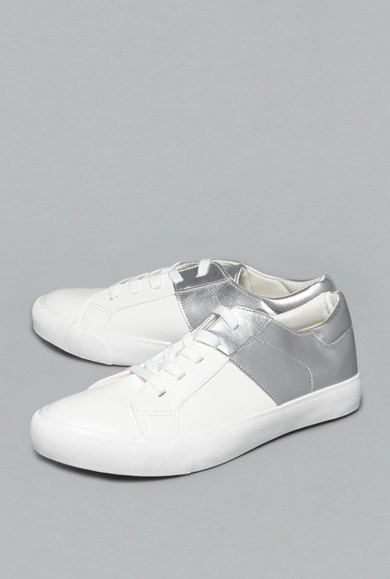 Head Over Heels by Westside White Sneakers