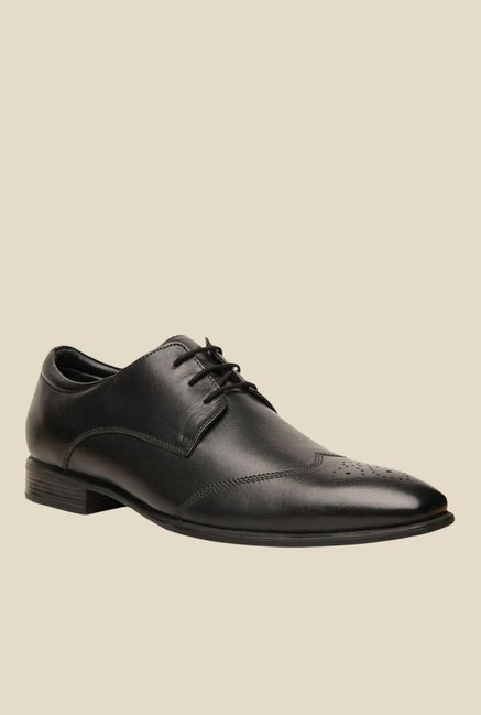 06dc0d28984 Buy Hush Puppies Fred Black Brogue Shoes for Men at Best Price ...